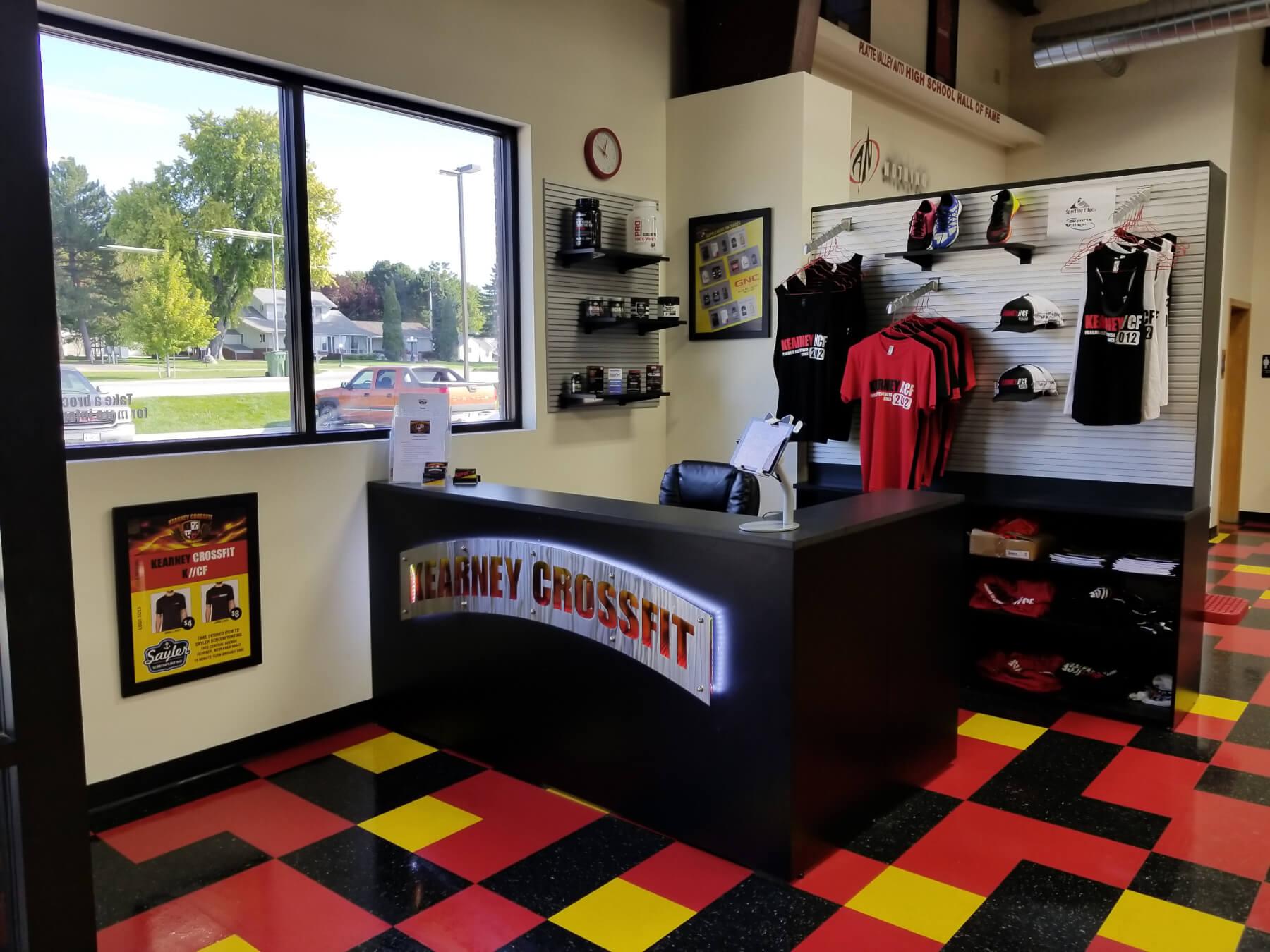 Kearney CrossFit Lobby